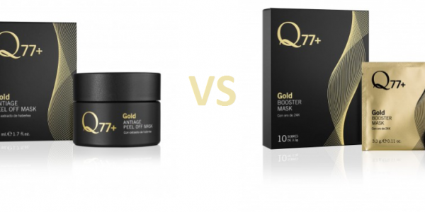 GOLD ANTIAGE PEEL OFF MASK VS GOLD BOOSTER MASK